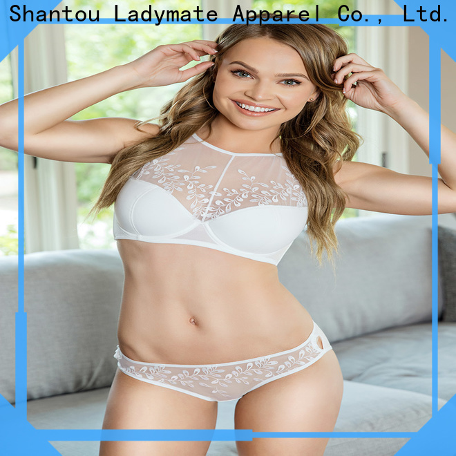 hot selling plus size lace underwear manufacturer for women