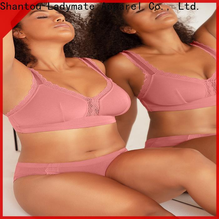 LADYMATE cute plus size underwear manufacturer for female