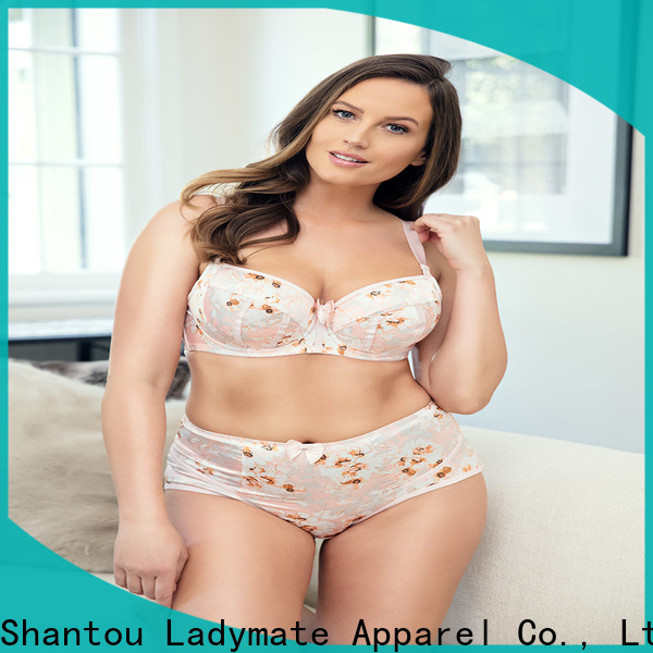 LADYMATE plus size cotton thongs manufacturer for ladies