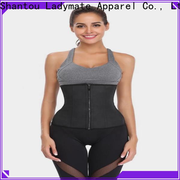 LADYMATE hot selling black waist cincher manufacturer for female