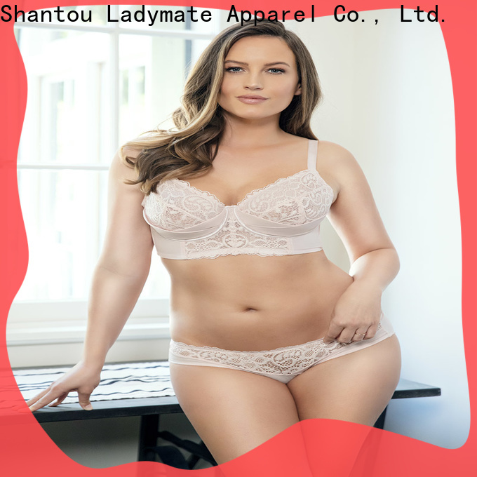 LADYMATE hot selling full cup support bra wholesale for casual