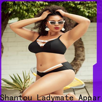 LADYMATE elegant plus size bra panty sets factory for women