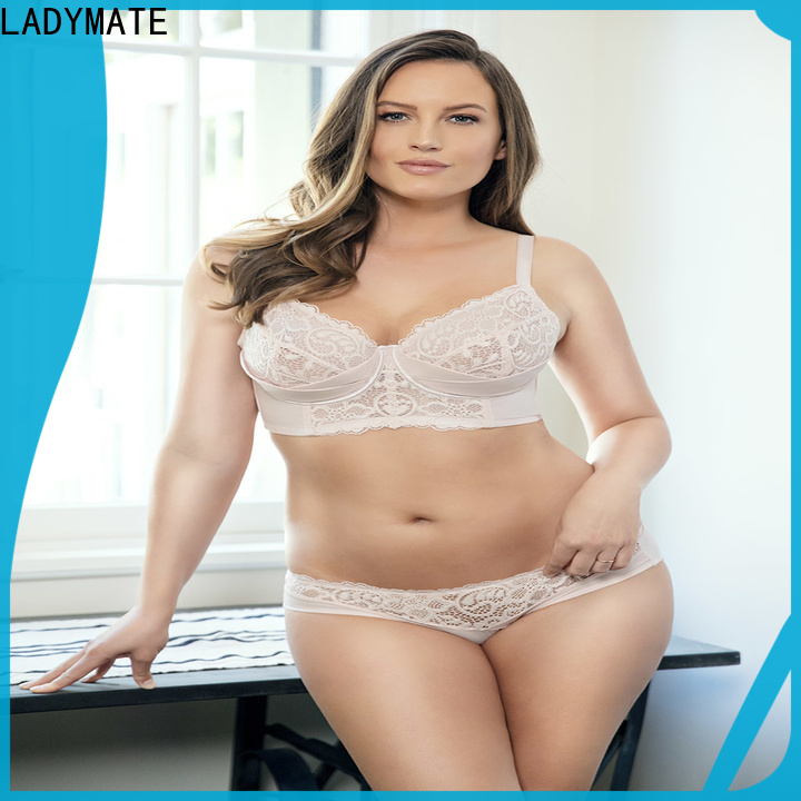 LADYMATE modest molded bra supplier for ladies
