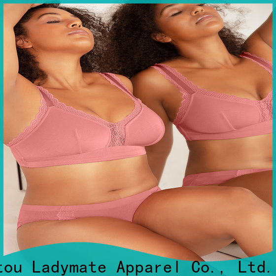 fashion unlined sheer lace bra manufacturer for women