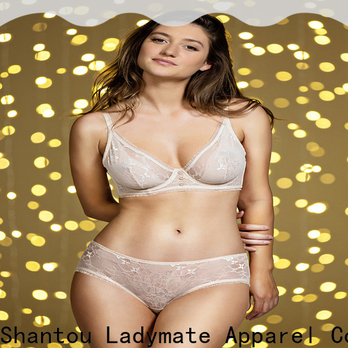 LADYMATE hot selling sexy unlined bras manufacturer for ladies