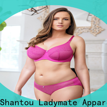LADYMATE unlined sheer lace bra company for girl