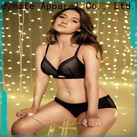 LADYMATE stylish embroidery lingerie manufacturer for female