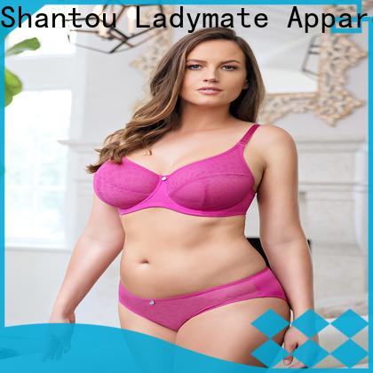 LADYMATE hot selling lace boyshort panties wholesale for ladies