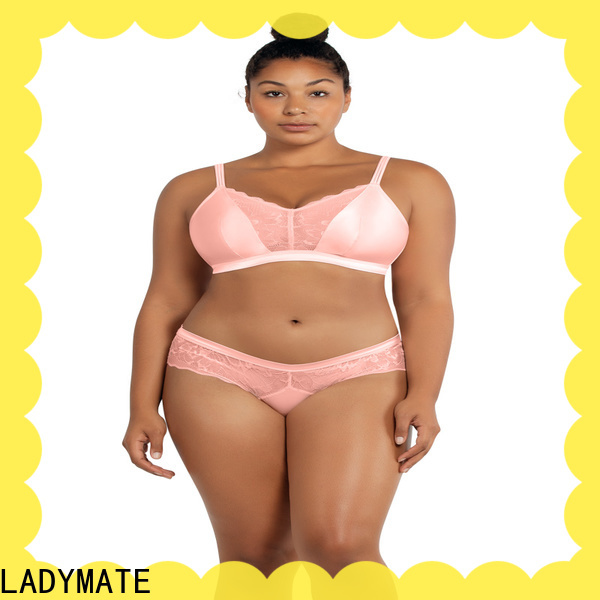 LADYMATE plus size unlined bras manufacturer for girl