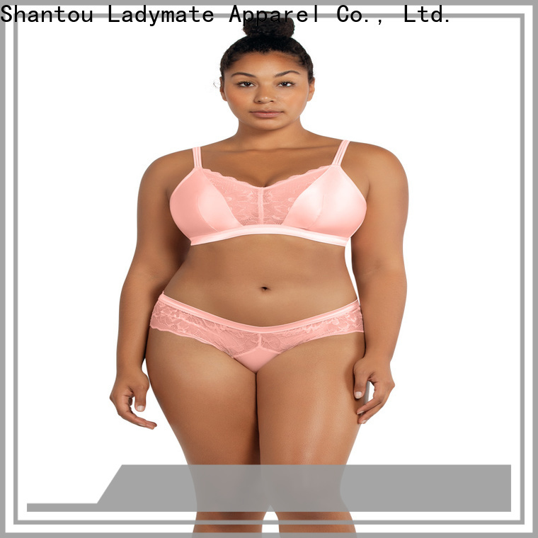 LADYMATE lace boyshort underwear supplier for girl