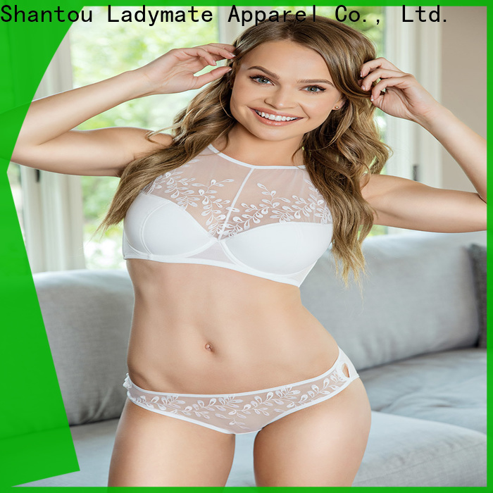 comfortable high cut briefs plus size design for women
