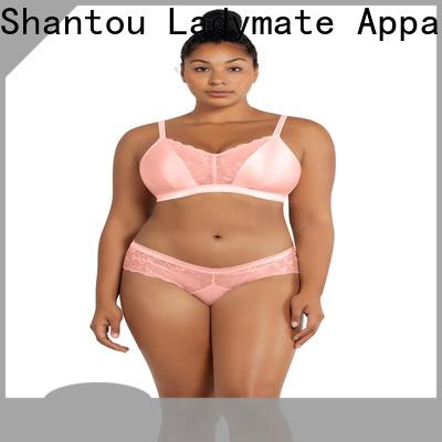 fashion high cut briefs plus size wholesale for ladies